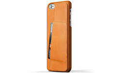 Mujjo Leather Wallet Case 80° for iPhone 6 Plus/6S Plus Tan