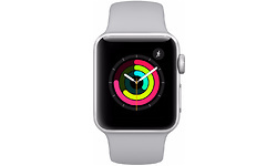 Apple Watch Series 3 38mm Silver Sport Band White