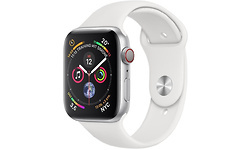 Apple Watch Series 4 4G 40mm Silver Sport Band White