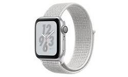 Apple Watch Nike+ Series 4 40mm Silver Sport Loop Hail White