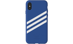 Adidas Originals Moulded Suede iPhone X Back Cover Blue