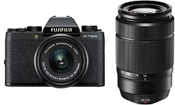 Fujifilm X-T100 Black 15-45 + 50-230 kit Black