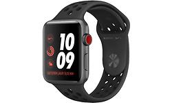 Apple Watch Nike+ Series 3 4G 42mm Space Grey Sport Band Black
