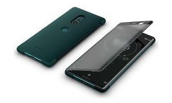 Sony Style Cover Touch Sony Xperia XZ3 Green