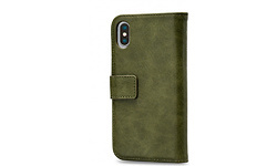 Mobilize Elite Gelly Wallet Book Case Apple iPhone X Green