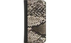 Mobilize Special Premium Gelly Book Case Samsung Galaxy S8 Snake Brown