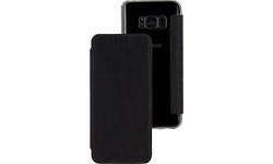 Mobilize Slim Gelly Booklet Samsung Galaxy S8 Solid Black