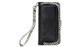 Mobilize 2in1 Gelly Wallet Zipper Case Apple iPhone X/Xs Black/Zebra