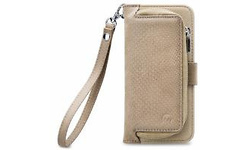 Mobilize 2in1 Gelly Wallet Zipper Case Samsung Galaxy J3 2017 Latte