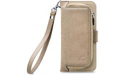 Mobilize 2in1 Gelly Wallet Zipper Case Apple iPhone X/Xs Latte