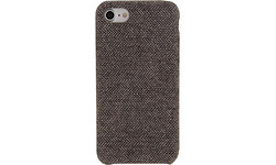 Xccess Fabric Cover Apple iPhone 7/8 Brown