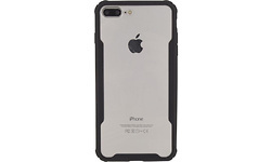Xccess Novus Hybrid Case Apple iPhone 7 Plus/8 Plus Black/Transparant