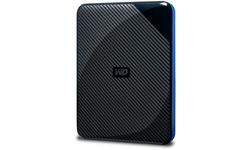 Western Digital Gaming 2TB USB-C Black/Blue
