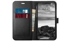 Spigen iPhone XR Case Wallet S Black