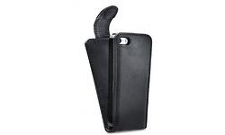 Xccess TPU Flip Case Apple iPhone 5/5S/SE Black