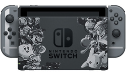 Nintendo Switch Super Smash Bros Ultimate Edition Grey