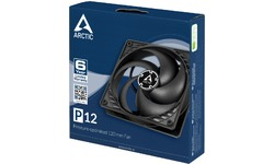 Arctic P12 Pressure Optimised 120mm Black