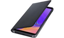 Samsung Galaxy A7 2018 Wallet Cover Black
