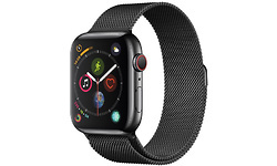 Apple Watch Series 4 4G 44mm Black Sport Loop Milanaise Black