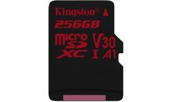 Kingston Canvas ReactSP MicroSDXC UHS-I U3 256GB + Adapter
