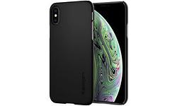 Spigen Thin Fit Case Apple iPhone XS Black