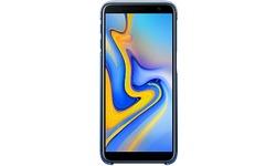 Samsung Galaxy J6+ Gradation Cover Blue