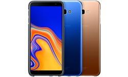 Samsung Galaxy J4+ Gradation Cover Blue
