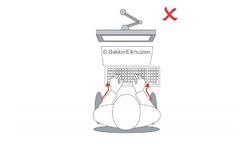 Bakker Elkhuizen Goldtouch Travel Go Bluetooth Black (US)