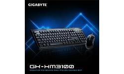 Gigabyte GK-KM3100 USB Combo Black (US)