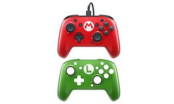 PDP Nintendo Switch Faceoff Deluxe Pro Controller Super Mario Editie
