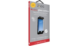 Zagg InvisibleShield Glass Contour iPhone 7/8 Plus Screen Black