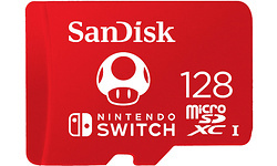 Sandisk MicroSDXC UHS-I U3 128GB (Nintendo Switch)
