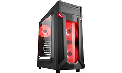 Sharkoon VG6-W Window Red