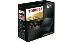 Toshiba Canvio For Desktop 3.5 4TB Black