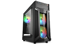 Sharkoon VG6 RGB Window Black