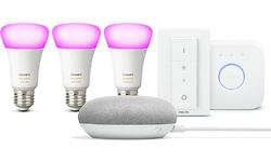 Philips Google Home Mini Philips Hue Starter Pack