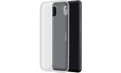 Azuri Glossy TPU Nokia 3.1 Back Cover Transparent