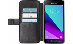 Azuri Wallet Magnet Samsung Galaxy Xcover 4 Book Case Black