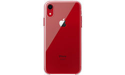 Apple iPhone XR Clear Case Red