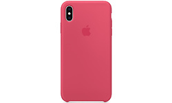 Apple iPhone XS Max Leather Back Cover Hibiscus