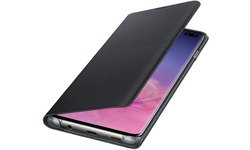 Samsung Galaxy S10 Plus LED View Cover Book Case Black