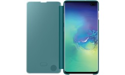 Samsung Galaxy S10 Plus Clear View Cover Green