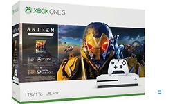Microsoft Xbox One S 1TB White + Anthem