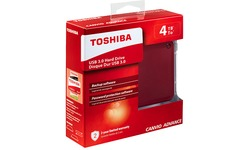 Toshiba Canvio Advance 4TB Red