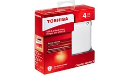 Toshiba Canvio Advance 4TB White