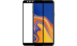 Azuri Galaxy J6 Plus 2018 Screenprotector Glass Black