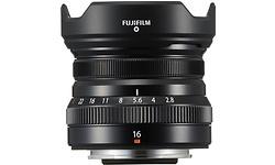 Fujifilm XF 16mm f/2.8 R WR Black