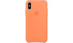 Apple iPhone Xs Silicone Case Papaya