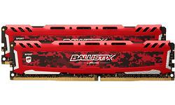 Crucial Ballistix Sport LT 16GB DDR4-3200 CL16 kit Red