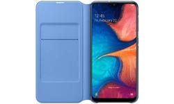Samsung Galaxy A20E Wallet Cover Black